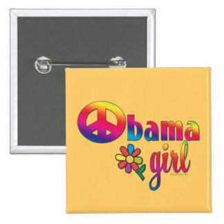 Obama Girl 2 Inch Square Button