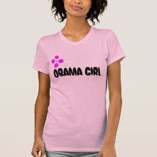 Obama Girl - Abstract Flower T-Shirt