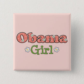 Obama Girl Barack Obama Button
