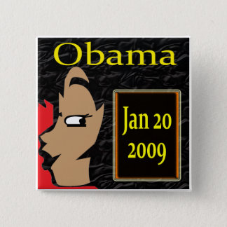 Obama Girl, Inauguration T-Shirts and Gifts! Button