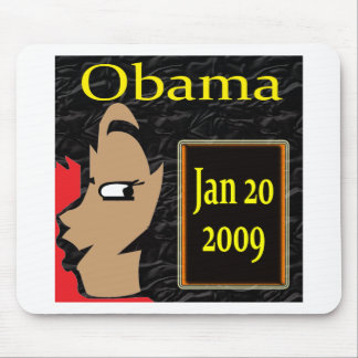 Obama Girl Inauguration T-Shirts and Gifts Mouse Pads