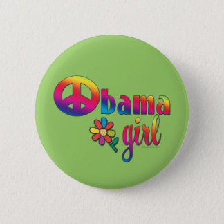 Obama Girl Pinback Button