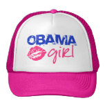 Obama Girl Trucker Hat