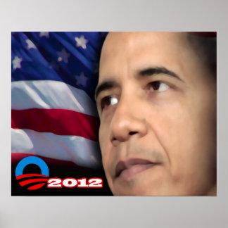 Obama Glare Print