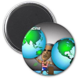 Obama Global Rebalancing Act 1 Fridge Magnets
