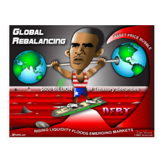 Obama Global Rebalancing Postcard