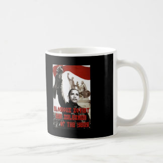 Obama: Glorious Soviet Gun Salesman of the Year Coffee Mug