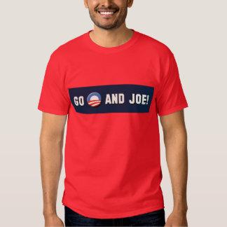 "Obama - Go ""O"" and Joe! T Shirt"