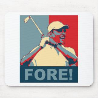 ¡Obama Golfing DELANTE! Mousepad