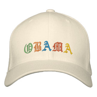 Obama Gorras De Béisbol Bordadas