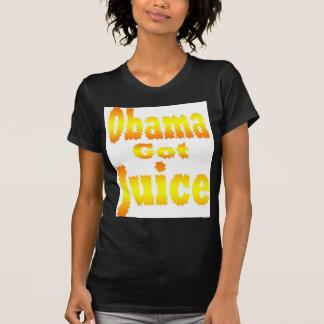 Obama Got Juice Orange Yellow T-Shirt