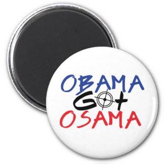 Obama Got Osama 2 Inch Round Magnet