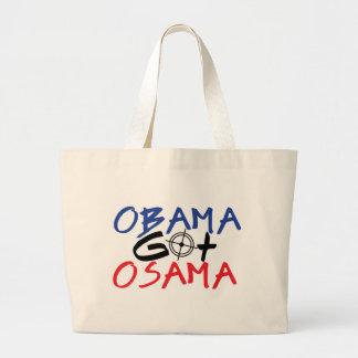 Obama Got Osama Canvas Bags