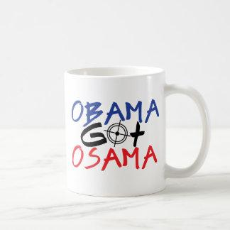 Obama Got Osama Coffee Mug
