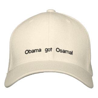 Obama got Osama! Embroidered Hat