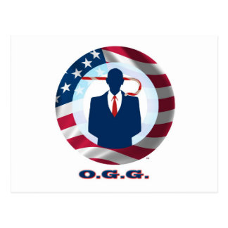 Obama Gotsta Go! Postcard