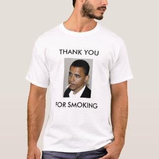 Obama, gracias por fumar playera