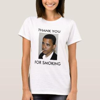 OBAMA: GRACIAS POR FUMAR PLAYERA