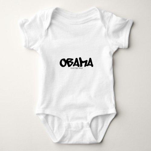 Obama Graffiti Baby Bodysuit