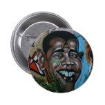 Obama Graffiti Pinback Buttons