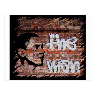 Obama Graffiti Postcard