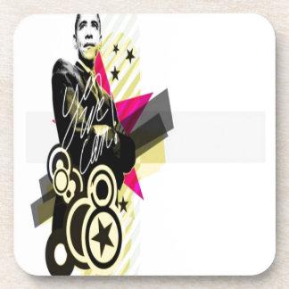 Obama graphic design coaster