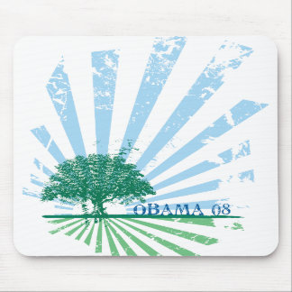Obama Green Mouse Mat