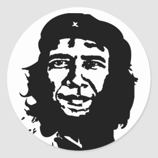 Obama Guevara Classic Round Sticker