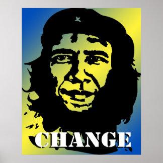 Obama Guevara Poster