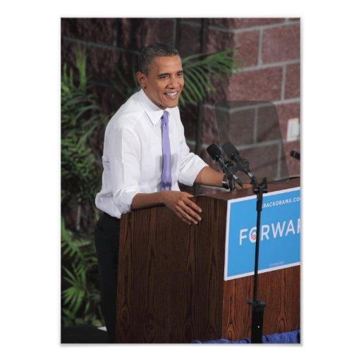 Obama habla foto