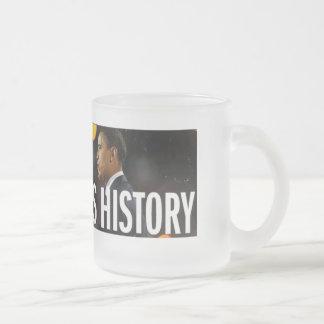 Obama hace la taza de la historia