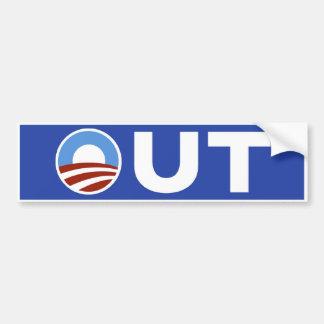 Obama hacia fuera en 2010 etiqueta de parachoque