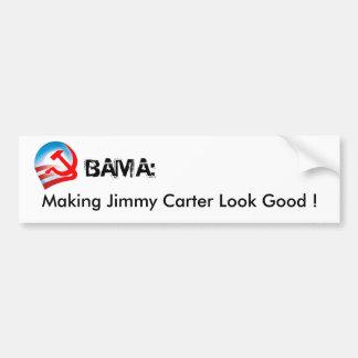 OBAMA - haciendo Jimmy Carter mirada buena Pegatina Para Auto