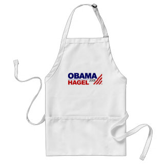 Obama Hagel 2008 Adult Apron