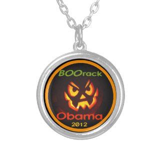 Obama Halloween Round Pendant Necklace