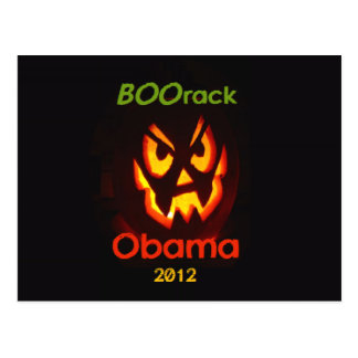 Obama Halloween Postal