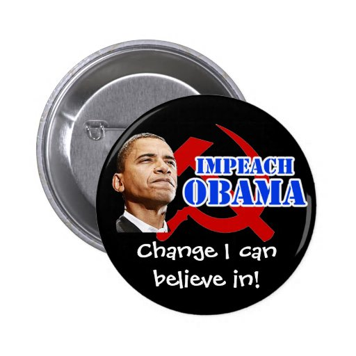 Obama Hammer and Sickle, Change I can believe in! Pins