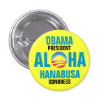OBAMA/HANABUSA 2012 PINS
