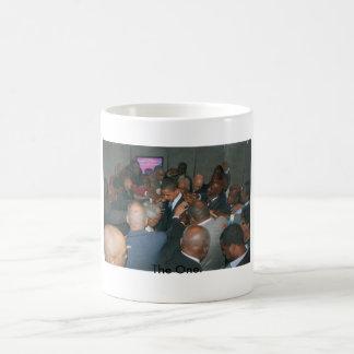 Obama - hands on, The One. Classic White Coffee Mug