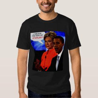 Obama has my stapler! shirt
