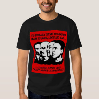 Obama has no experience - shirt