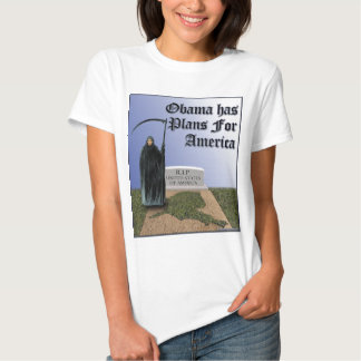 Obama Has  Plans For America T Shirt
