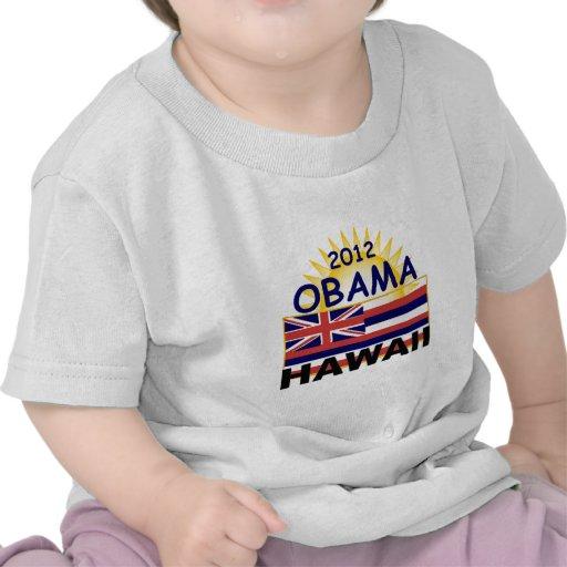 Obama Hawaii 2012) Camisetas