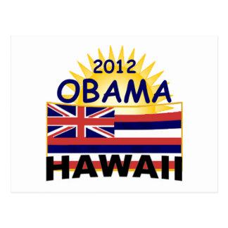Obama Hawaii 2012) Postcard