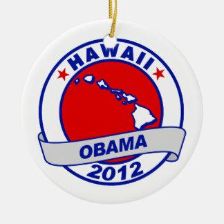 Obama - Hawaii Christmas Ornament
