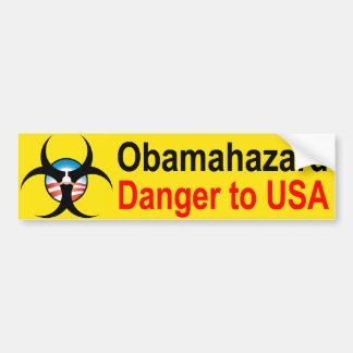 Obama Hazard bumper sticker