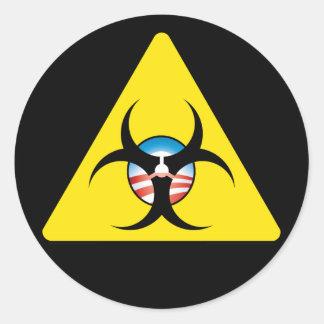 Obama Hazard sticker