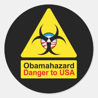 Obama Hazard stickers