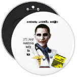 OBAMA HEALTH CARE BUTTONS