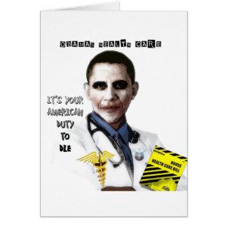 OBAMA HEALTH CARE CARD
